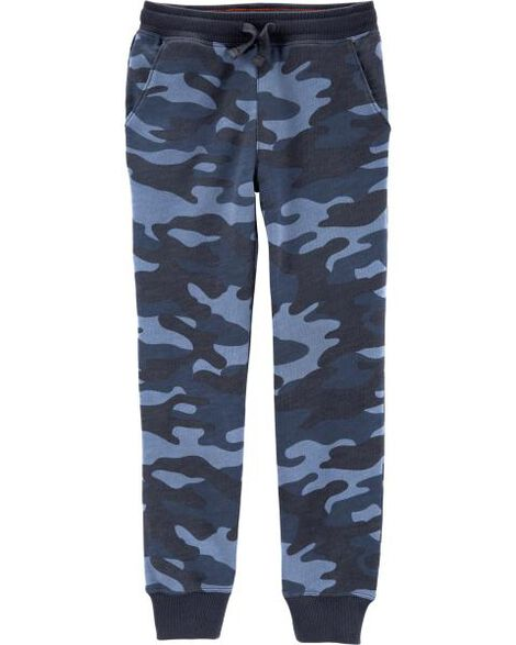 Camo Pull-On French Terry Joggers