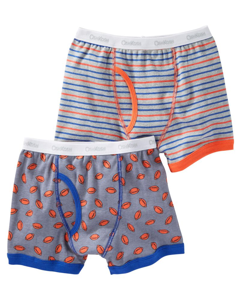 oshkosh 2-Pack Cotton Boxer Briefs