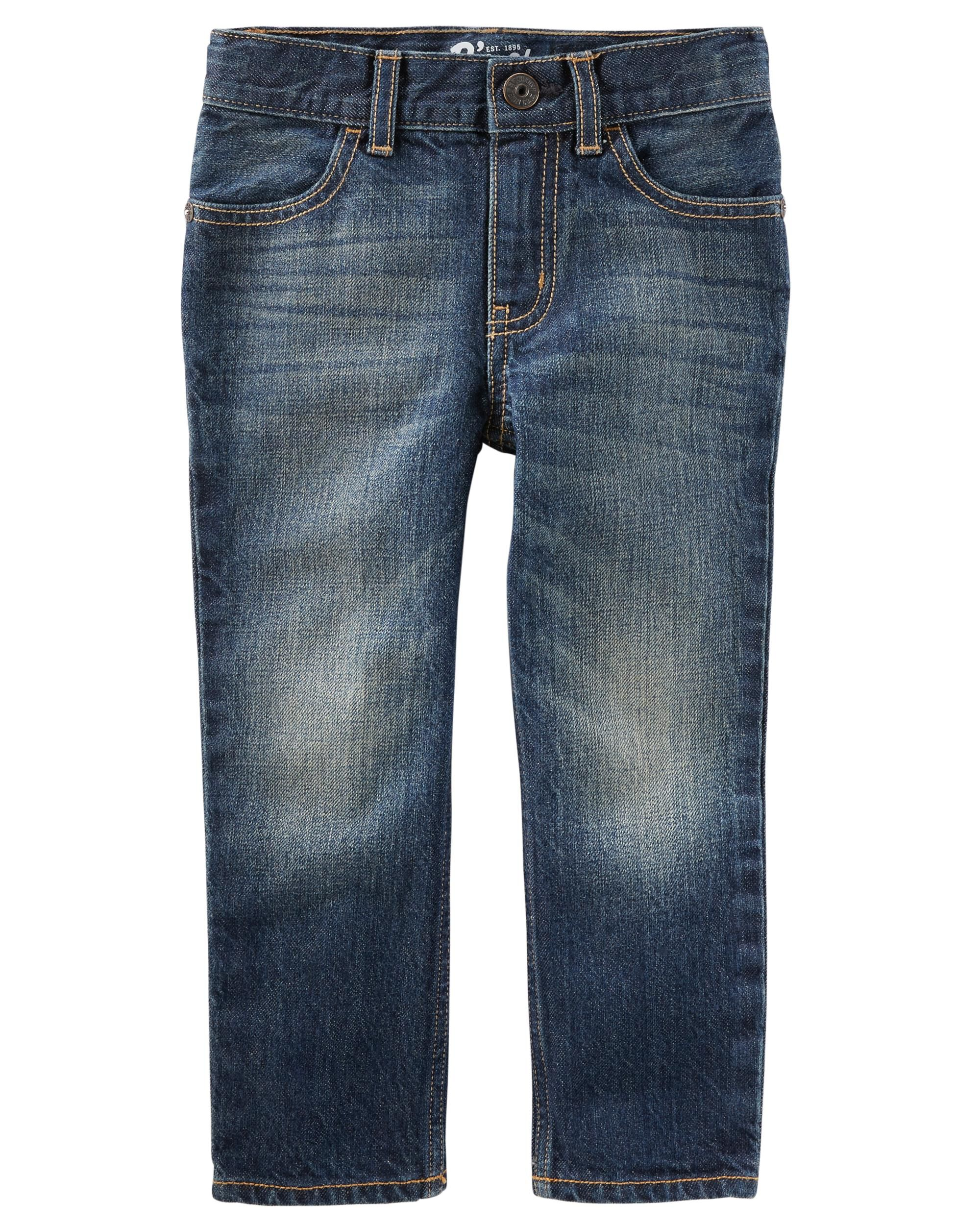 *DOORBUSTER* Straight Jeans - Authentic Tinted Wash