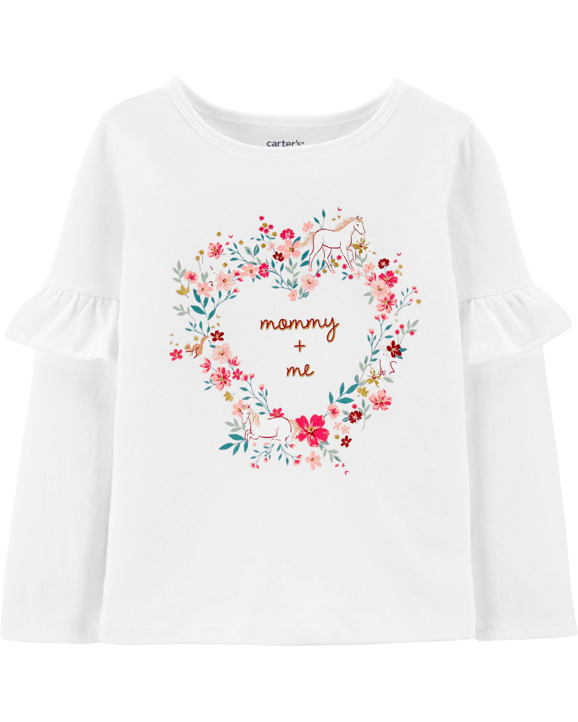 *CLEARANCE* Mommy + Me Floral Jersey Tee