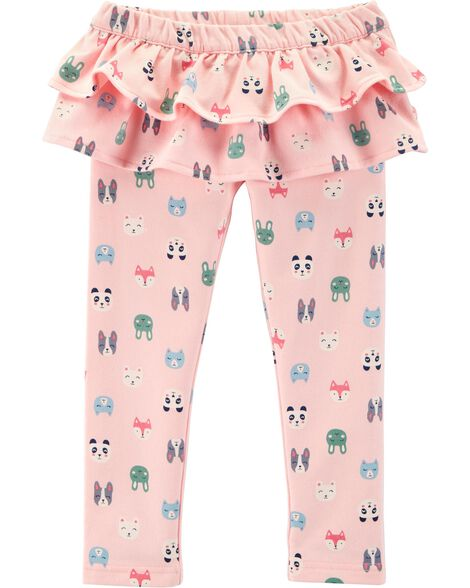d4025b763 Character Ruffle French Terry Pants | Carters.com