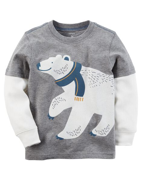 1ff1bb212 Polar Bear Layered-Look Tee