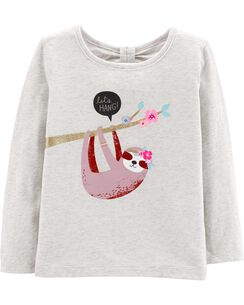 f7f07eaf165 Toddler Girl Long Sleeve Graphic Tees