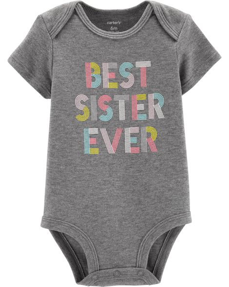 Best Sister Ever Collectible Bodysuit