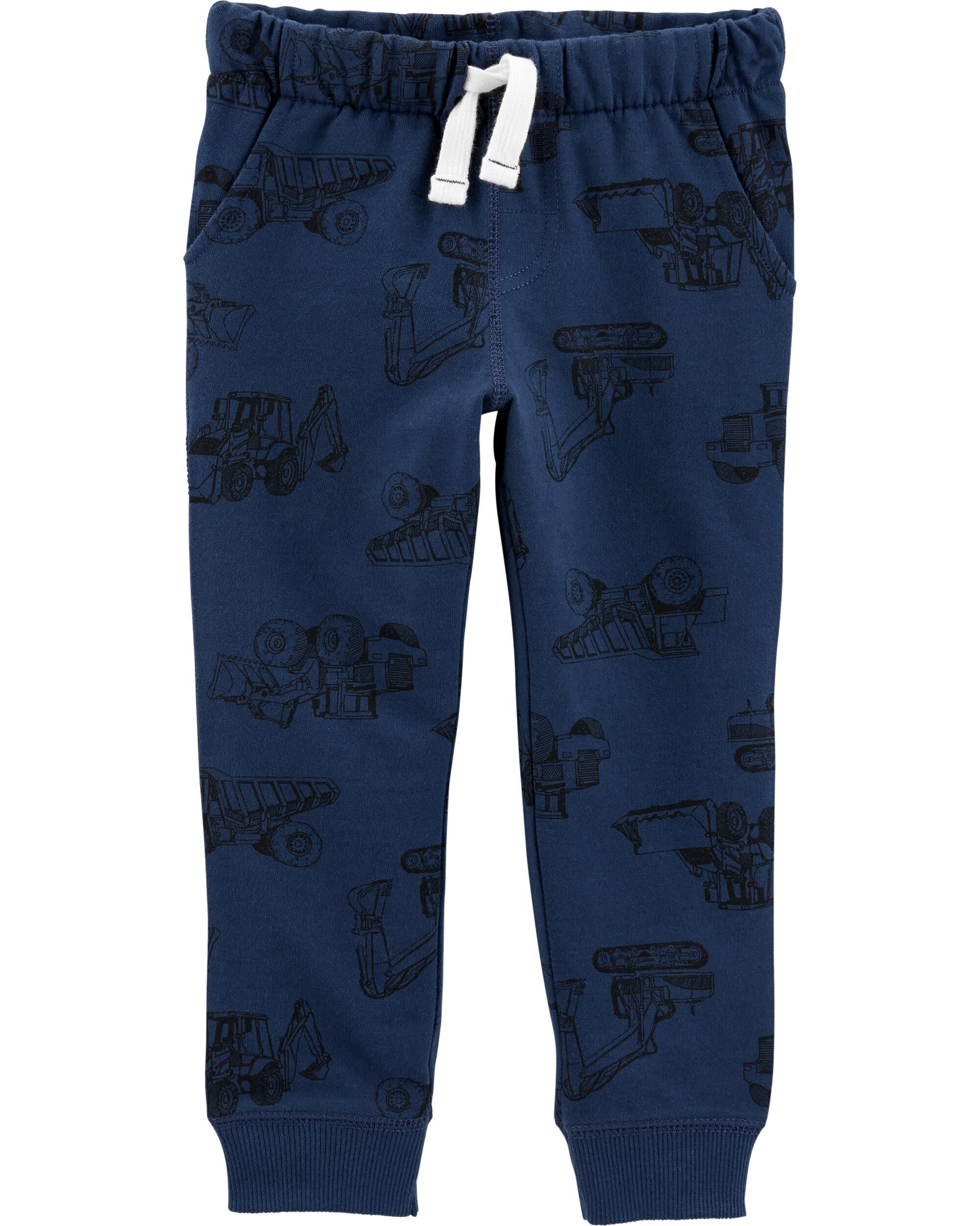 *DOORBUSTER* Construction Pull-On French Terry Joggers