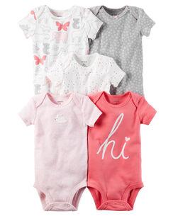 Newborn Baby Girl Clothes Basics Carters Com