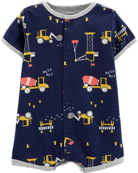 4edf79cdd219 Images. Construction Snap-Up Romper