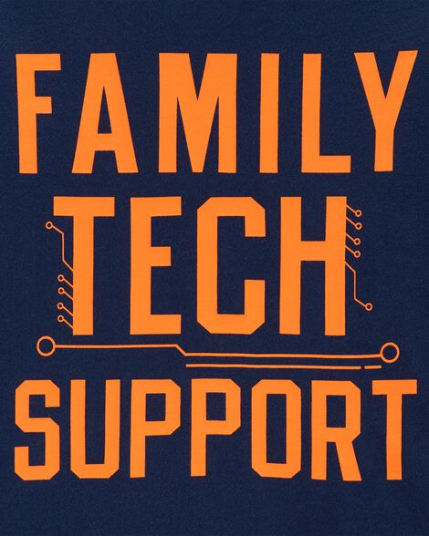 Family Tech Support Jersey Tee