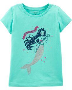 Glitter Rockstar Mermaid Jersey Tee 577030f23038