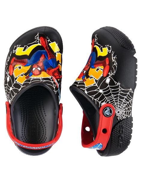 e570371f62c5 Crocs Fun Lab Lights Spiderman Clogs ...