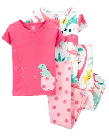 Carter/'s Pajamas Preemie Footed NWT Cotton Girl/'s Cherries Sleepwear FREE