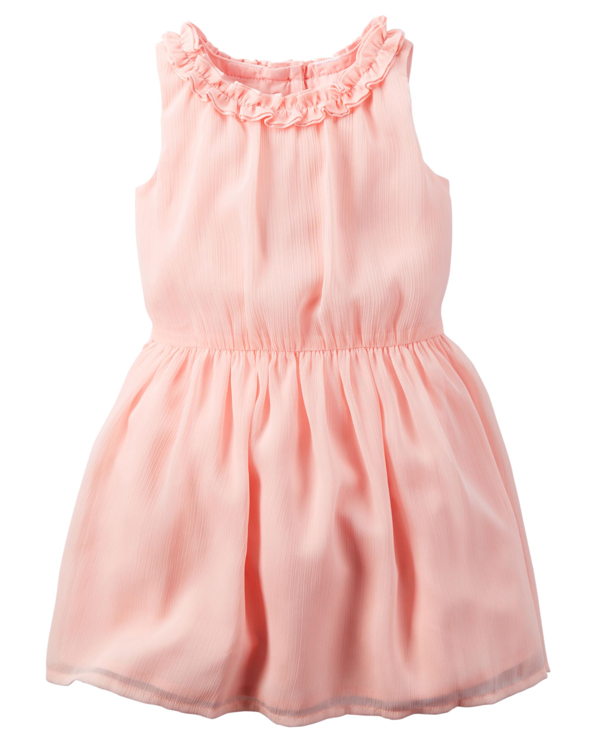 Crinkle Chiffon Dress | Carters.com