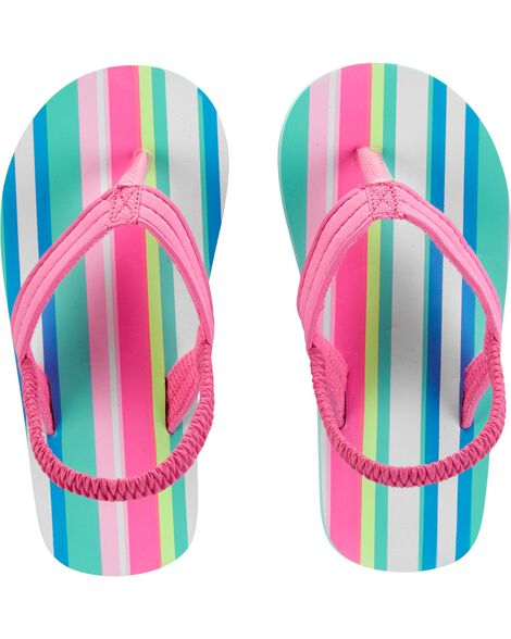 218c4ead7 Carter s Striped Flip Flops ...