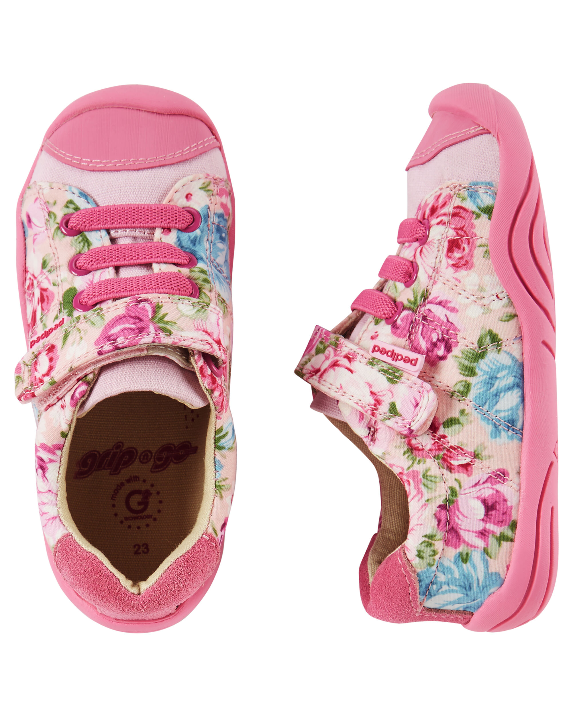 Pediped Grip n Go Jake Pink Floral