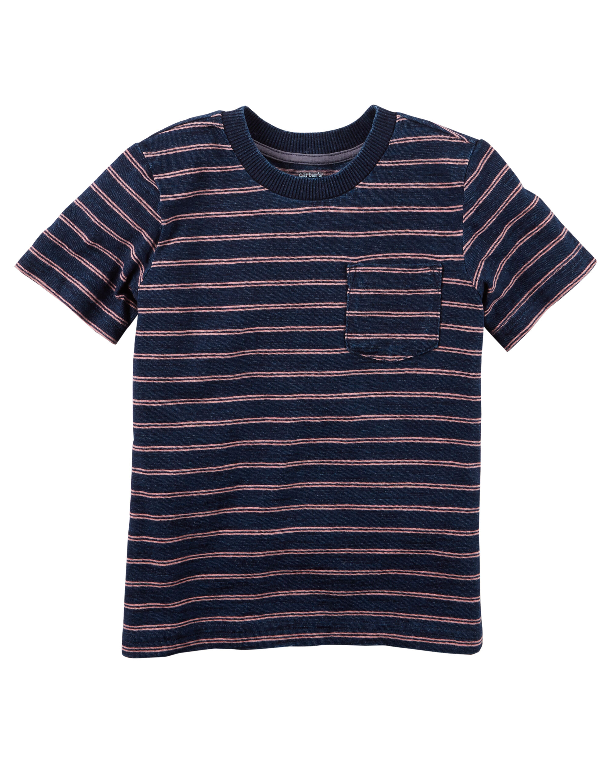 109c1150 Striped Pocket Tee | Carters.com