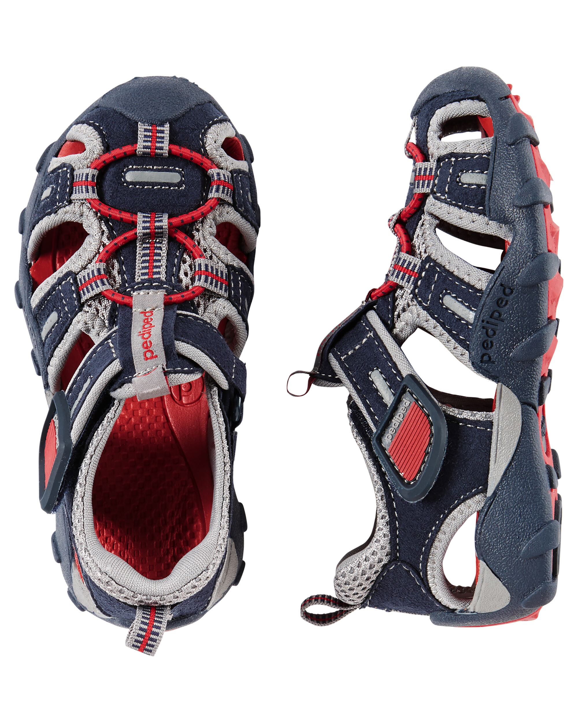 Pediped Flex Canyon Navy Red