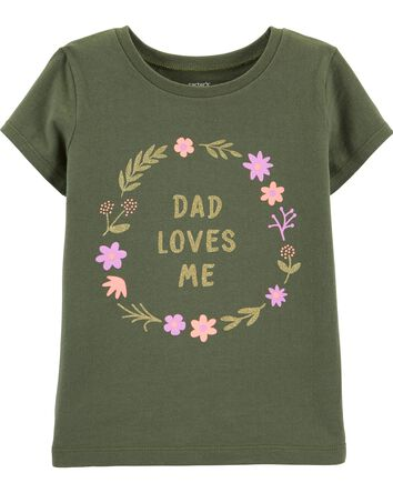 49078ee477b Baby Girl Tops | Carter's | Free Shipping