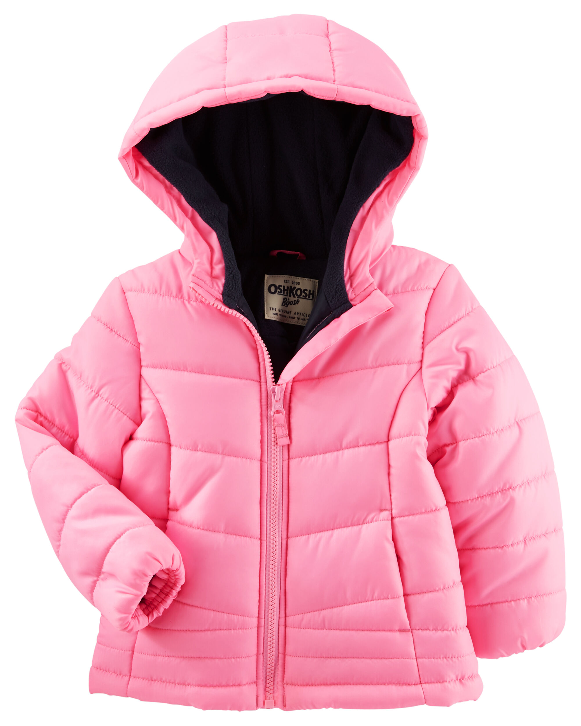 8e2c87a5145f Baby Girl OshKosh Quilted Puffer Jacket