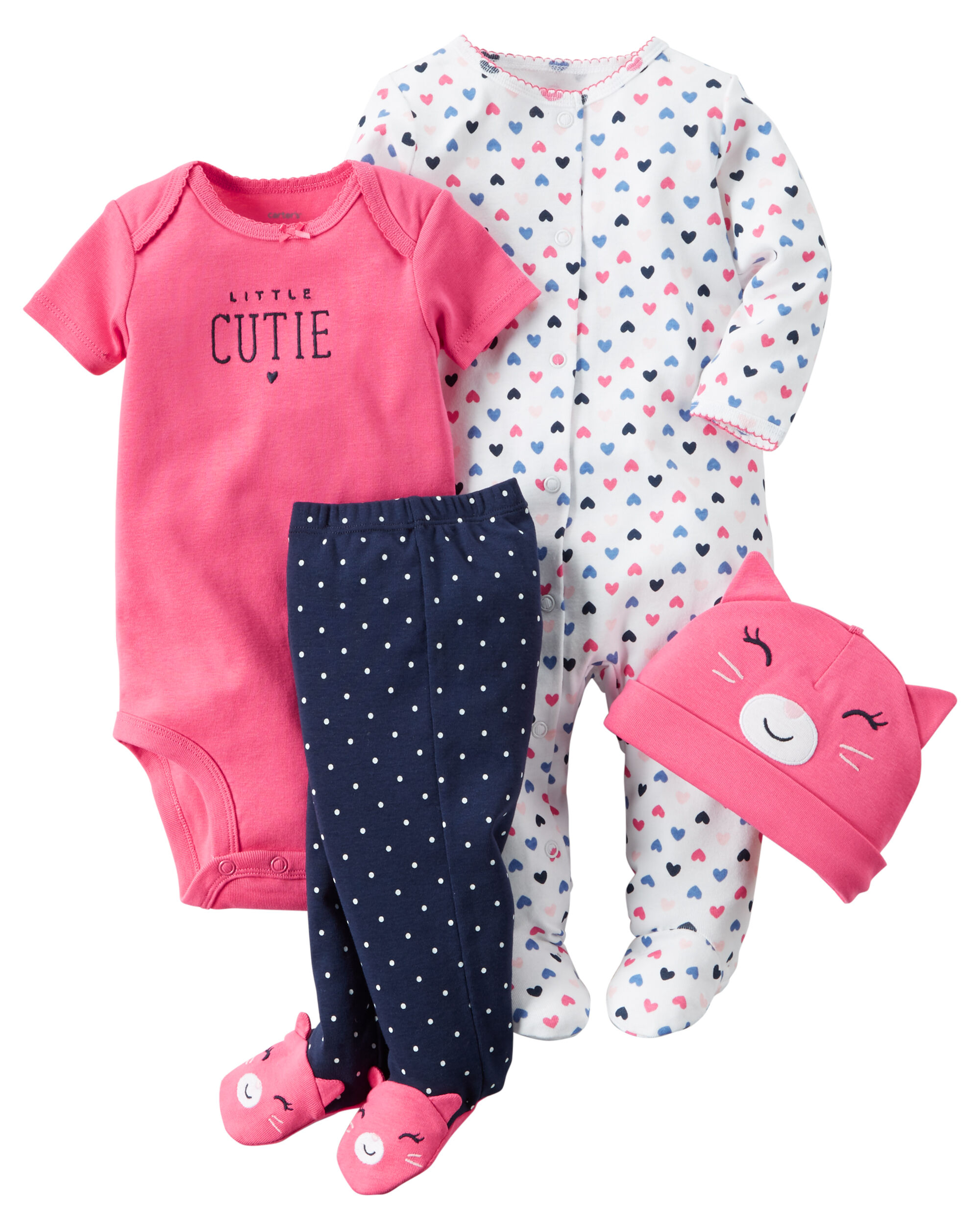 4-Piece Babysoft Take-Me-Home Set | Carters.com