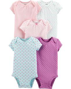 8543892e4 Baby Girl Bodysuits | Carter's | Free Shipping