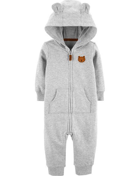 fe149fbd4a13 Hooded Bear Jumpsuit