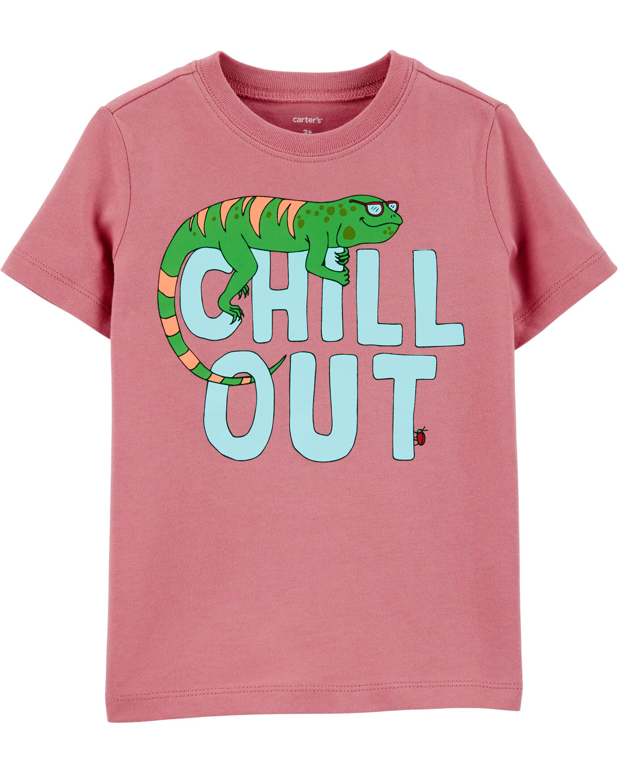 *DOORBUSTER* Chill Out Lizard Jersey Tee