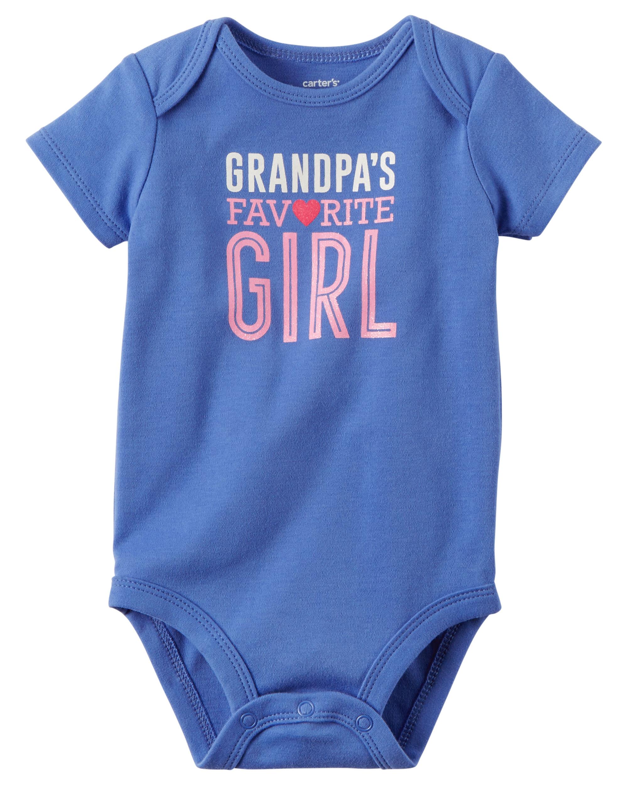 Grandpa s Favorite Girl Collectible Bodysuit