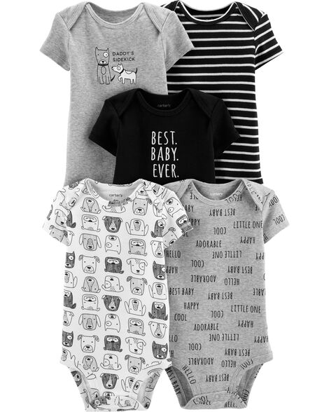 a88f139d1 Baby Boy 5-Pack Baby Bear Original Bodysuits | Carters.com