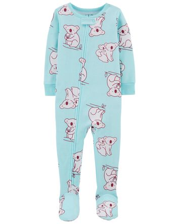 JUST ONE YOU TODDLER GIRL/'S 2PK FLORAL DINO 1 PIECE PAJAMA SIZES 12M//18M//4T