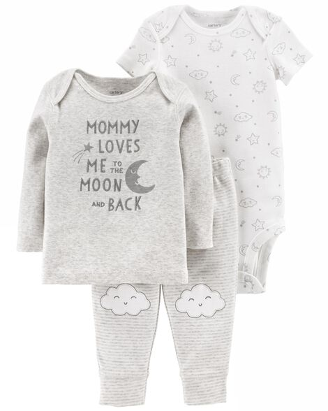6188412ad Baby Neutral 3-Piece Little Character Set | Carters.com