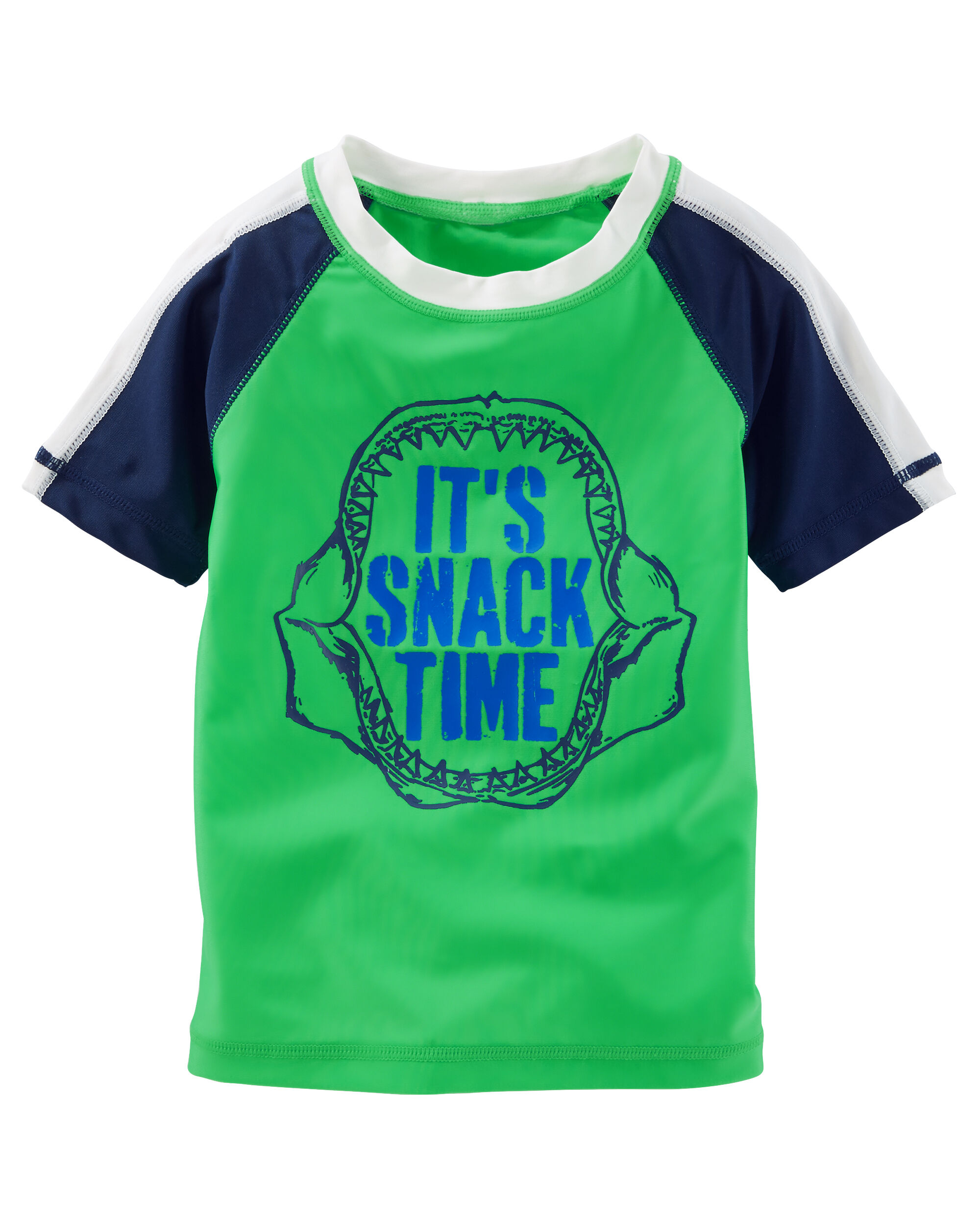 Osh Kosh Boys Snack Time Rash Guard Set