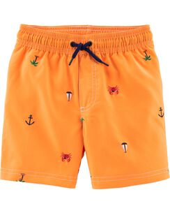 f495642b1 Baby Boy Swimwear: Trunks & Rashguards | Carter's | Free Shipping