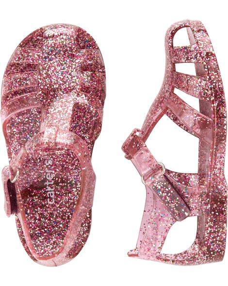 a22bb645a Carter s Glitter Jelly Sandals ...
