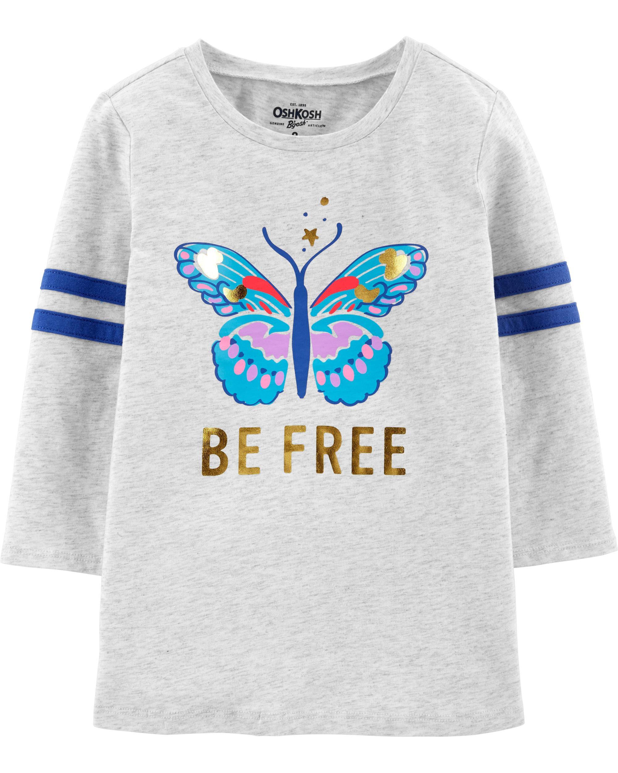 *CLEARANCE* Butterfly Varsity Tee