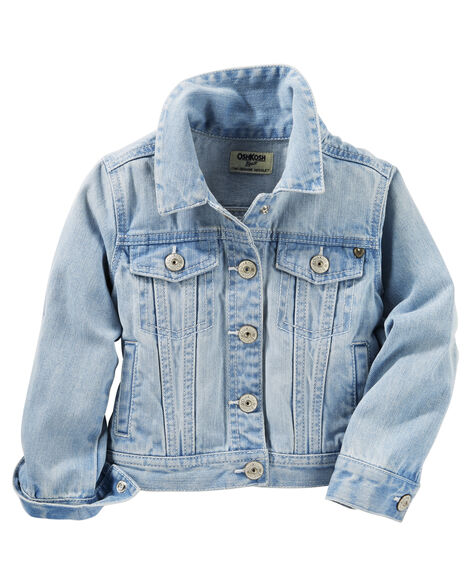 Denim Jacket Blue Ice Wash Oshkosh Com