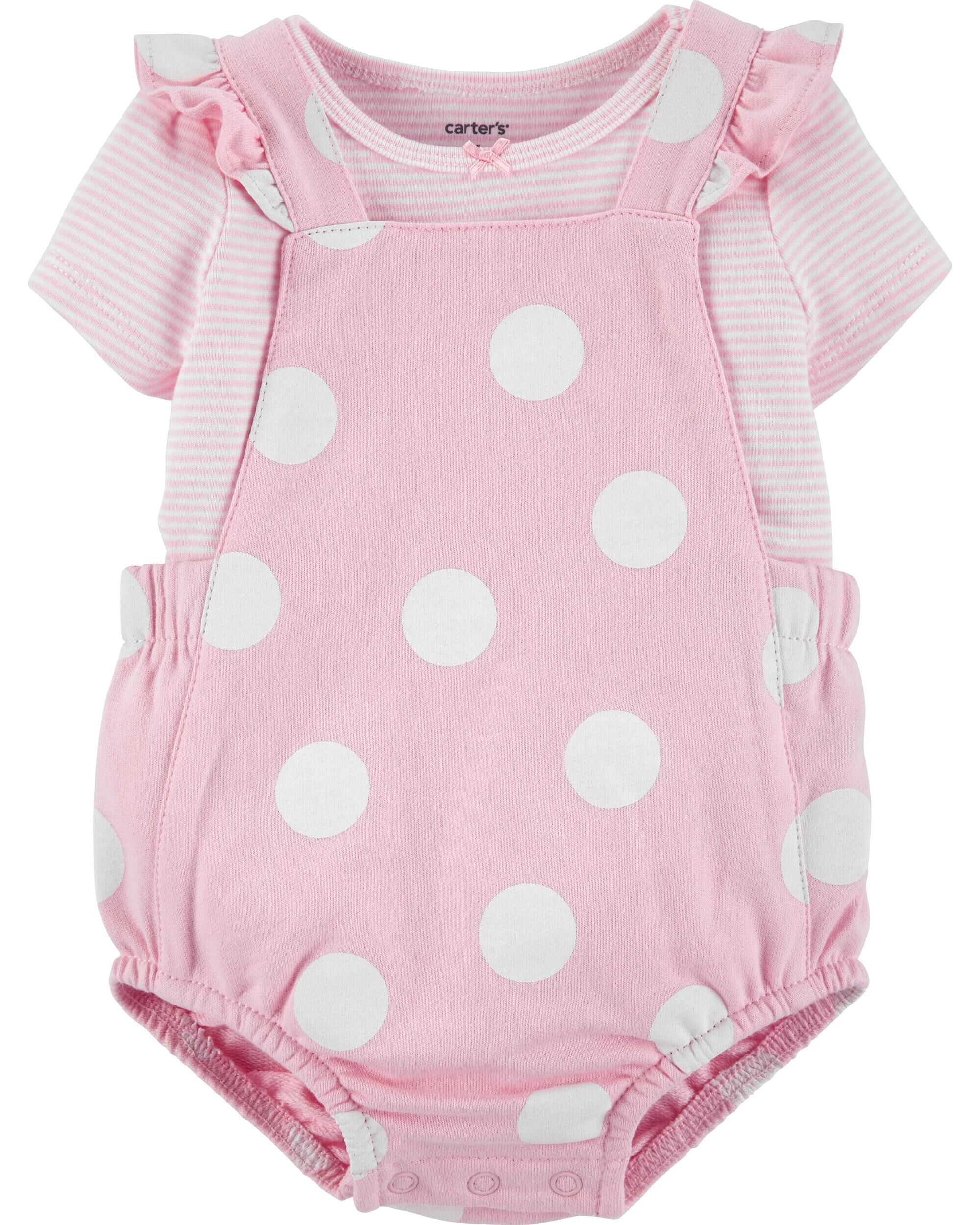 2-Piece Sunsuit Coverall Set