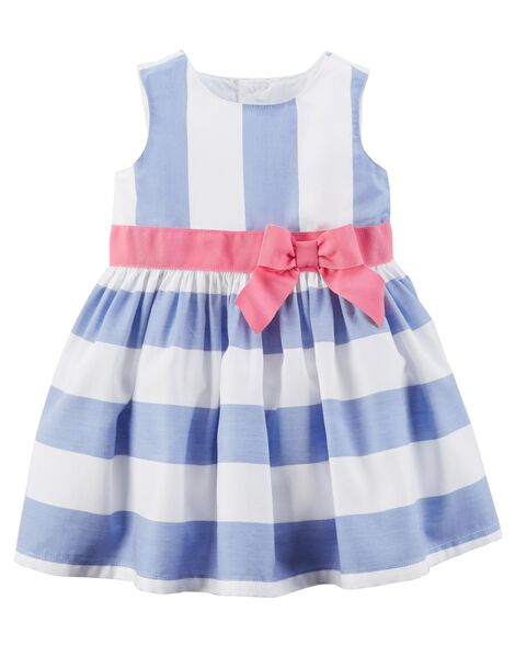 d048c565f Bow Sateen Dress | Carters.com