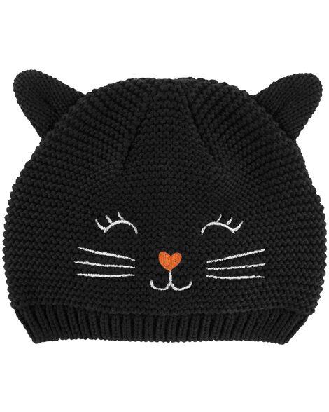 9ab8635cc Halloween Cat Hat | Carters.com