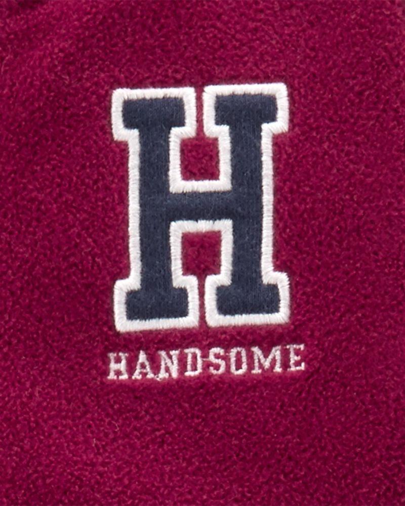 Varsity Fleece Jumpsuit, , hi-res