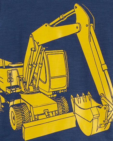 Construction Slub Jersey Tee