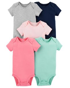 fd28c2da0c01 5-Pack Short-Sleeve Original Bodysuits
