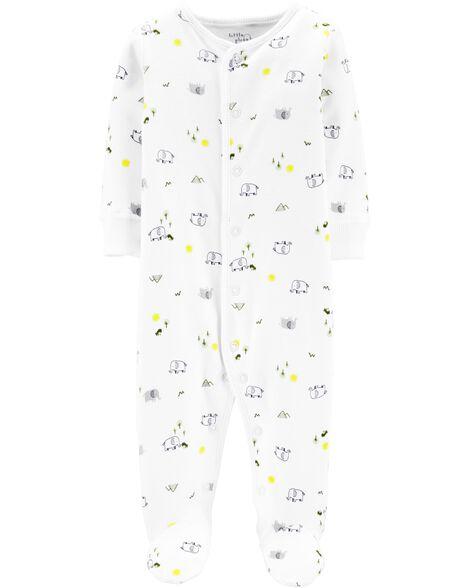 c75a267bc6aa Certified Organic Cotton Snap-Up Sleep & Play | Carters.com