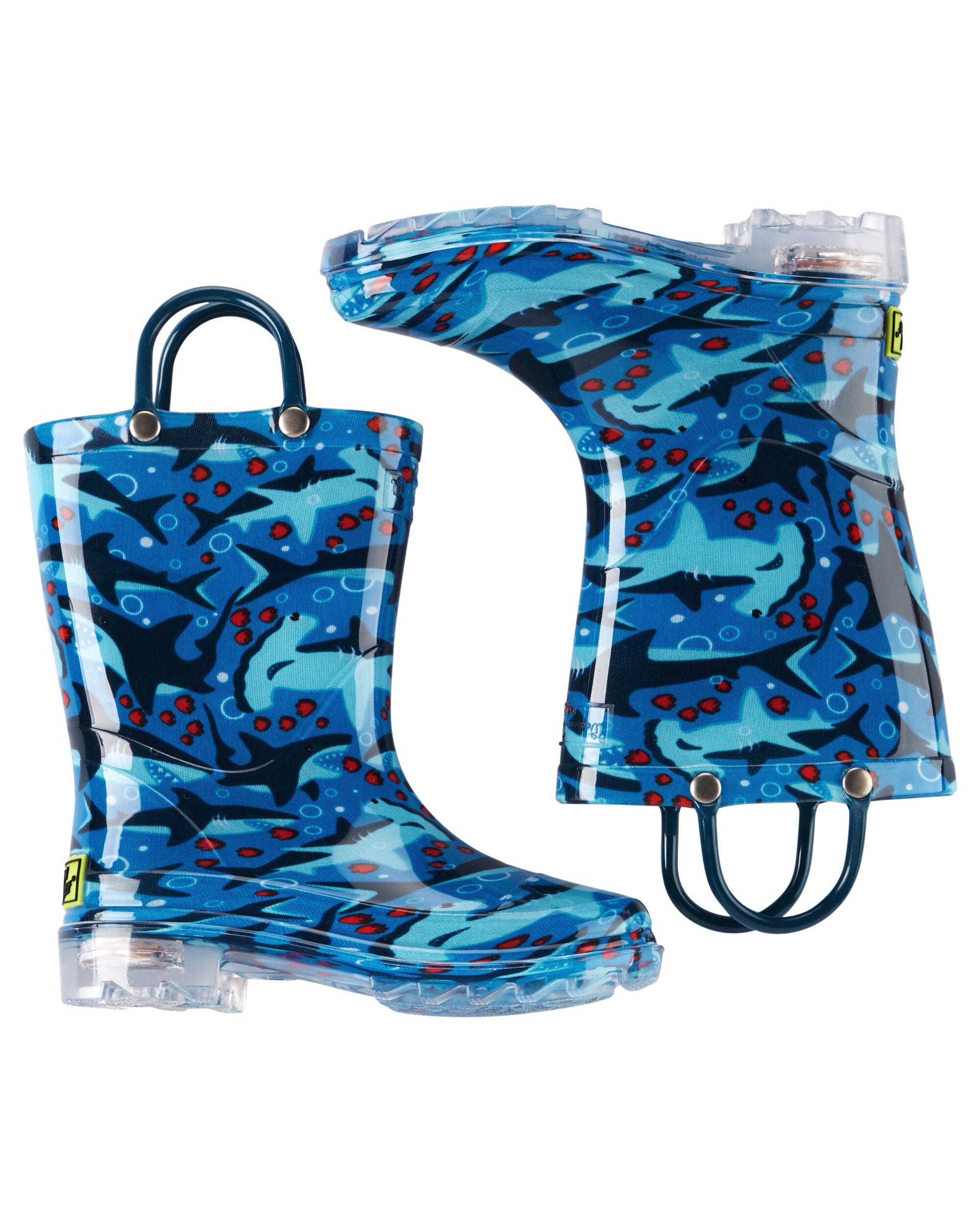 Western Chief Shark Light-Up Rain Boots