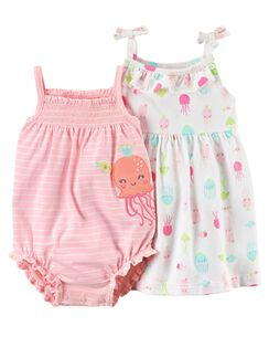 5d55d8c5f588 2-Piece Jellyfish Dress   Romper Set