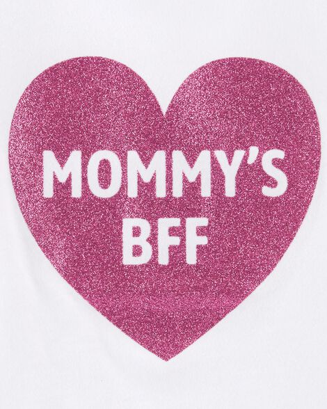 42516f0e Glitter Mommy's BFF Jersey Tee | Carters.com