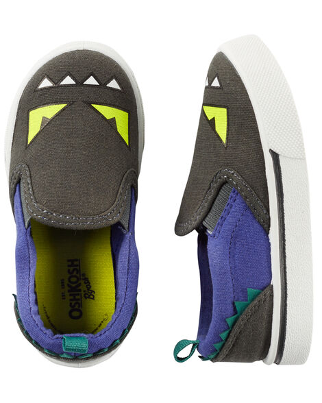 8ff186b5d Baby Boy OshKosh Monster Slip-On Shoes