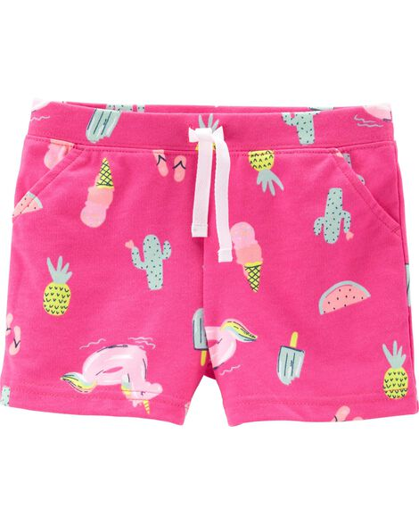 Summer French Terry Shorts