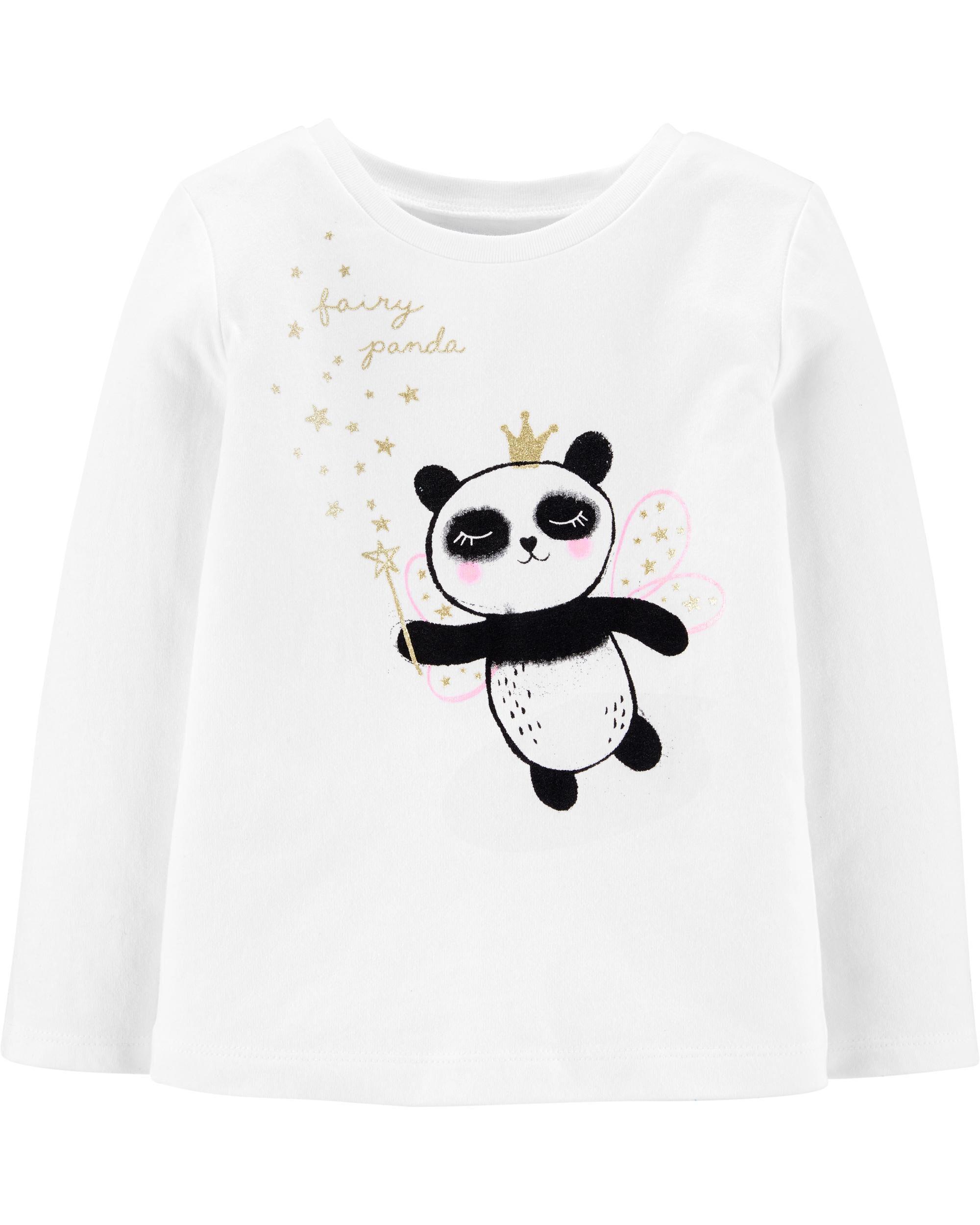 *DOORBUSTER* Glitter Fairy Panda Jersey Tee