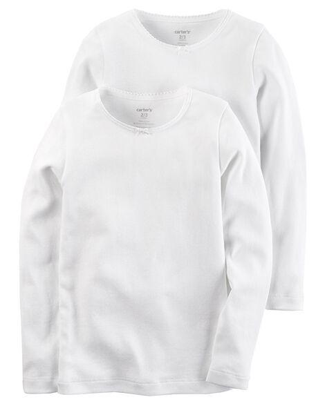 bb6e7632e76f 2-Pack Cotton Undershirts