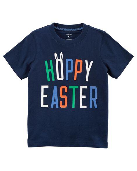 2b9f631ea Hoppy Easter Jersey Tee | Carters.com
